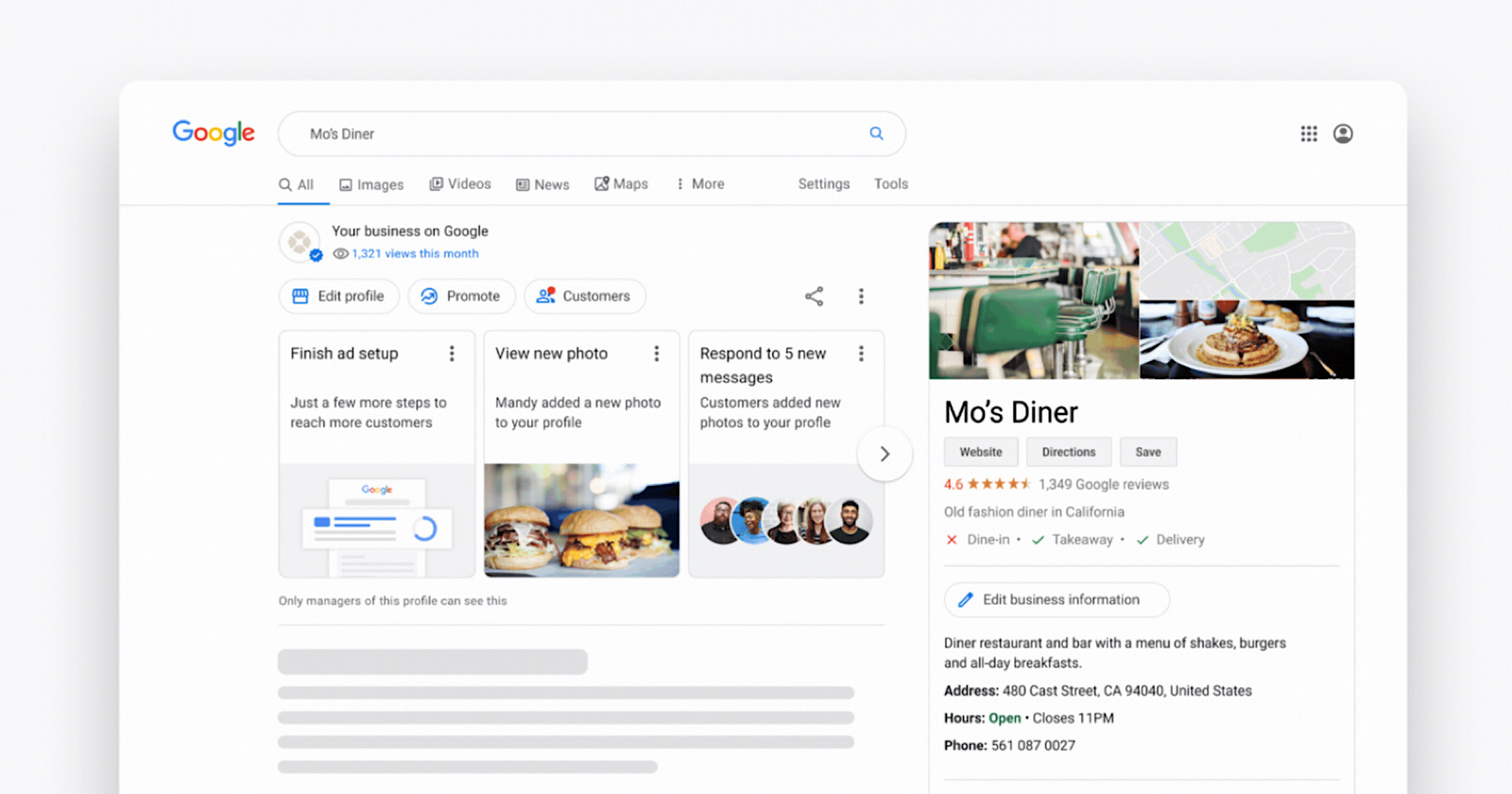 Google My Business: Edit Listings From Search & Maps - Search Engine Journal