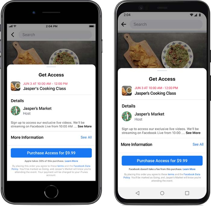 Facebook Announces Paid Online Events for Small Business Recovery – Search Engine Journal