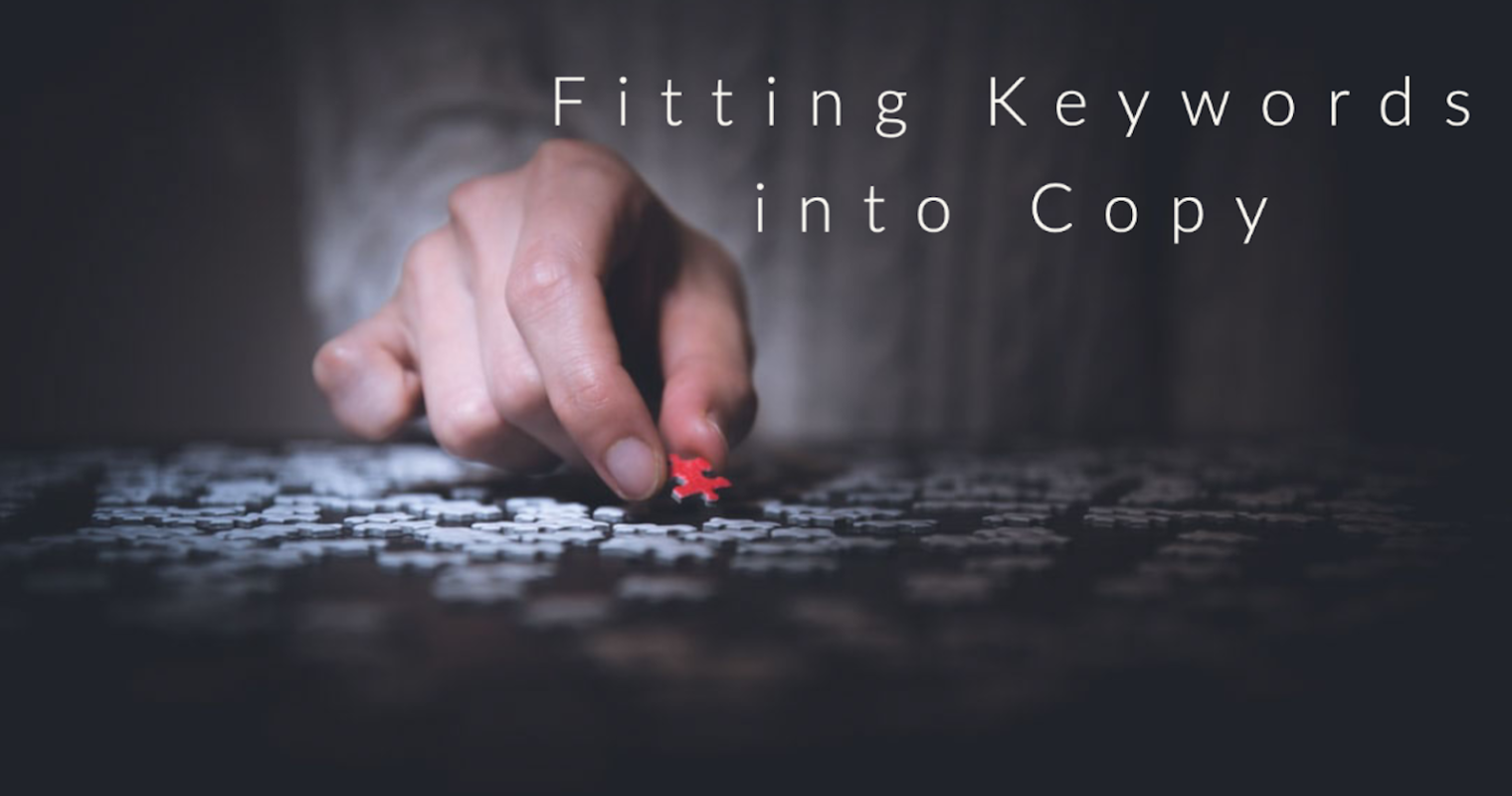 How to Add Keywords in Your Copy While Making Google Love You