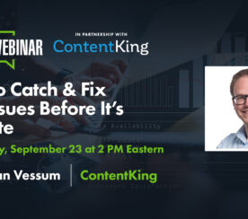 How to Catch & Fix SEO Issues Before It's Too Late [Webinar]