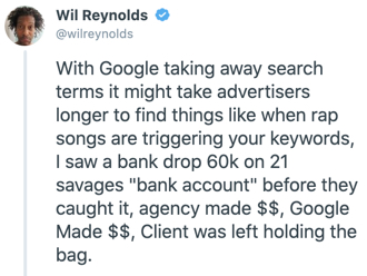 Wil Reynolds offered a twitter thread