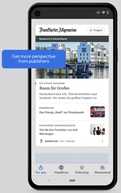 Google 'News Showcase' Coming Soon to Search Results