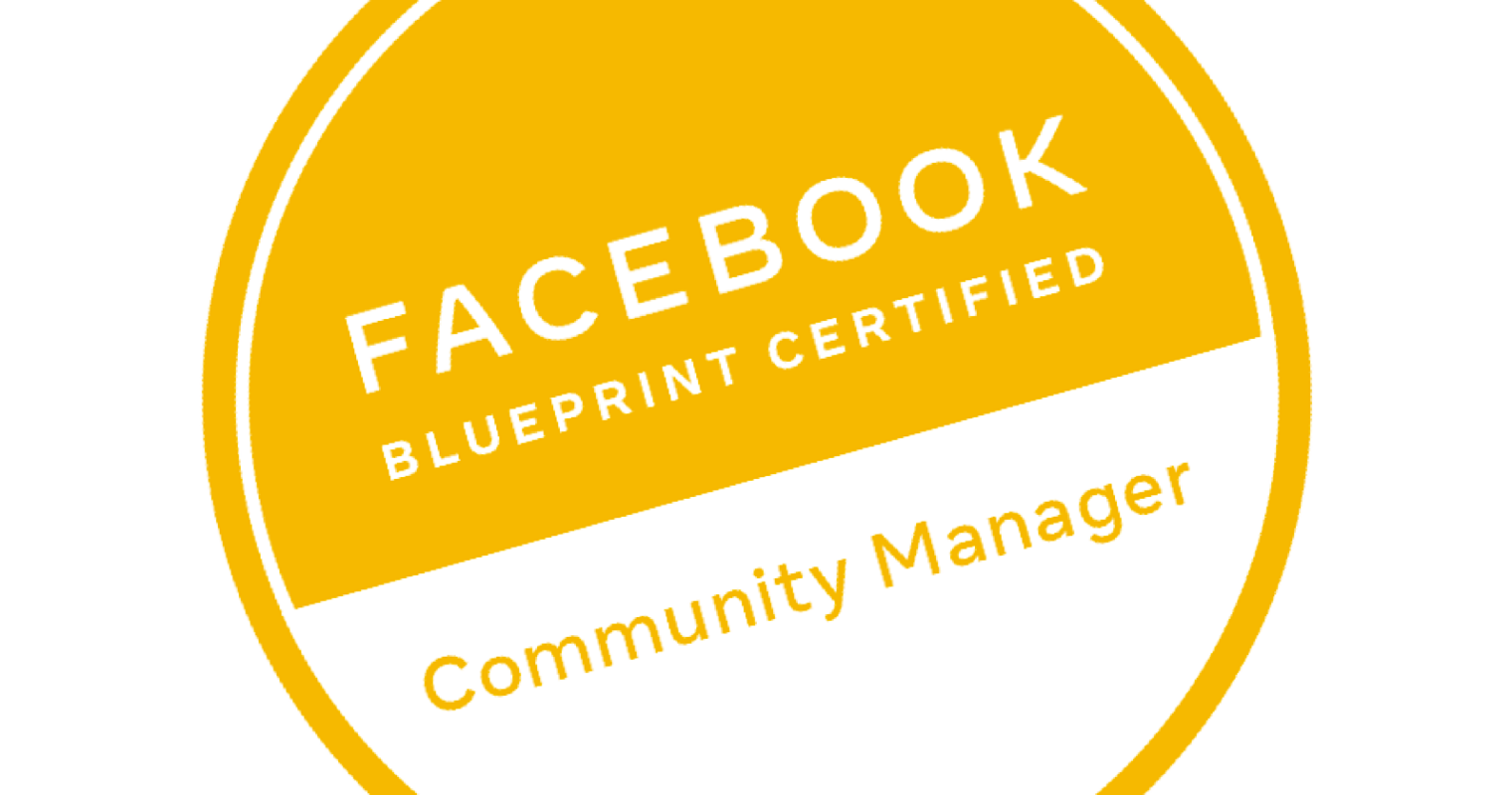 Facebook Community Manager Certification Program