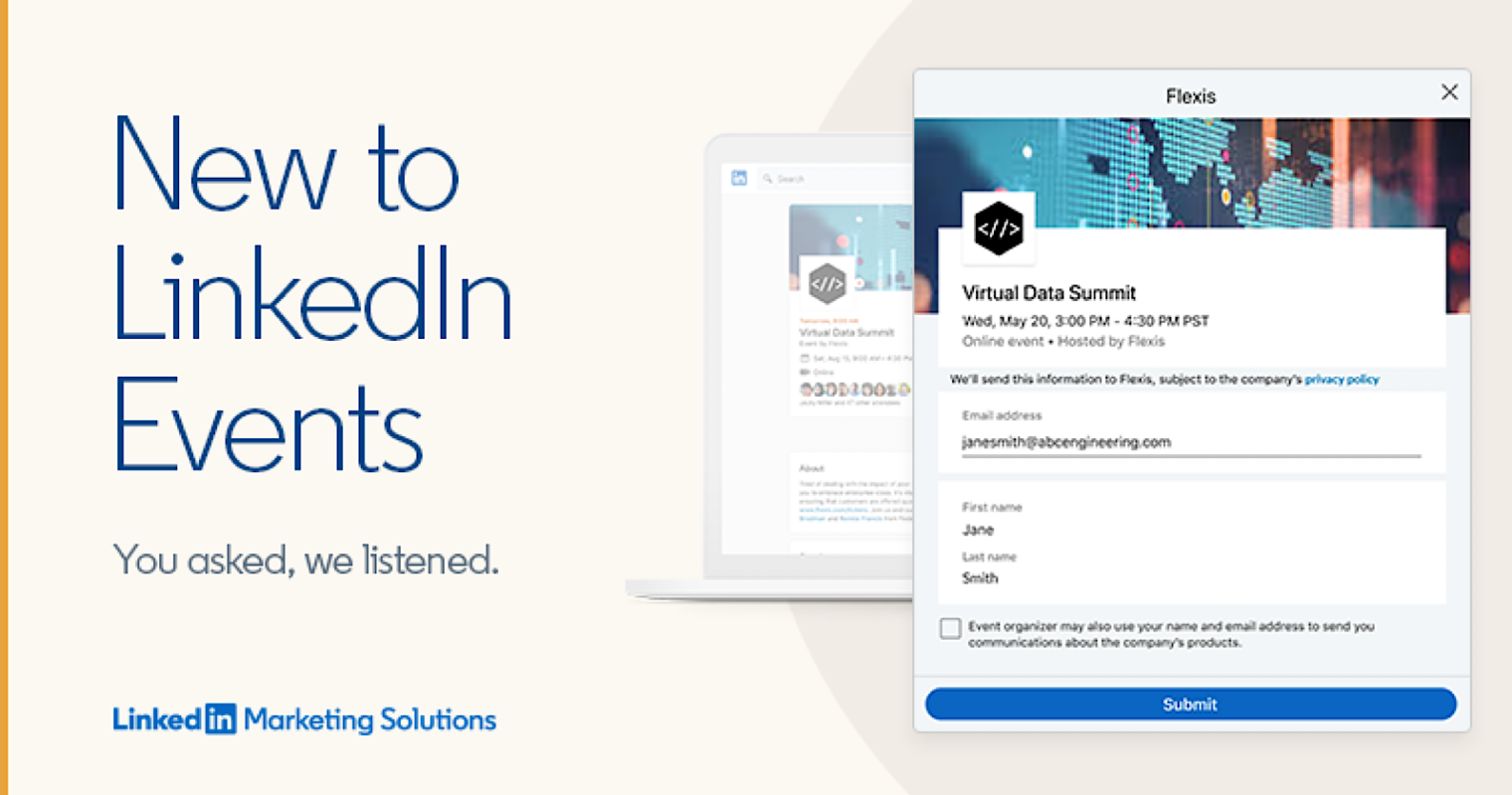 LinkedIn Makes Virtual Events Easier to Find