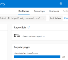 Microsoft Announces Clarity – Free Visitor Behavior Analytics