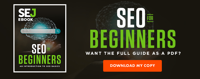 SEO for Beginners Guide - Download Now