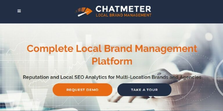 ChatMeter is a local brand management platform.