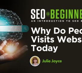 Why Do People Visit Websites Today?