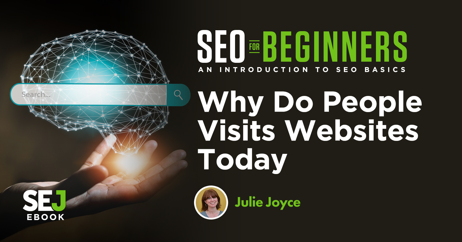 Why Do People Visit Websites Today? via @JulieJoyce