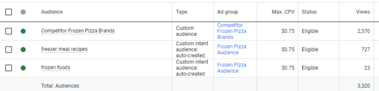 YouTube Ads targeting and audience segmentation