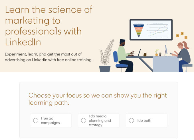 LinkedIn Launches 6 Free Advertising Courses - LinkedIn Marketing Labs