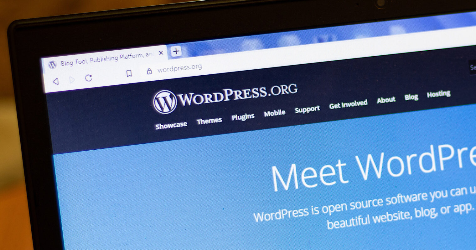 WordPress Powers 39.5% of All Websites