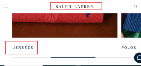 Ralph Lauren example of translation error from English to Spanish market.
