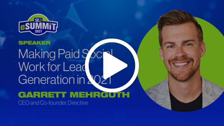 Making Paid Social Work for Lead Generation in 2021