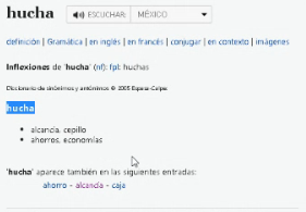 Spanish translation for content