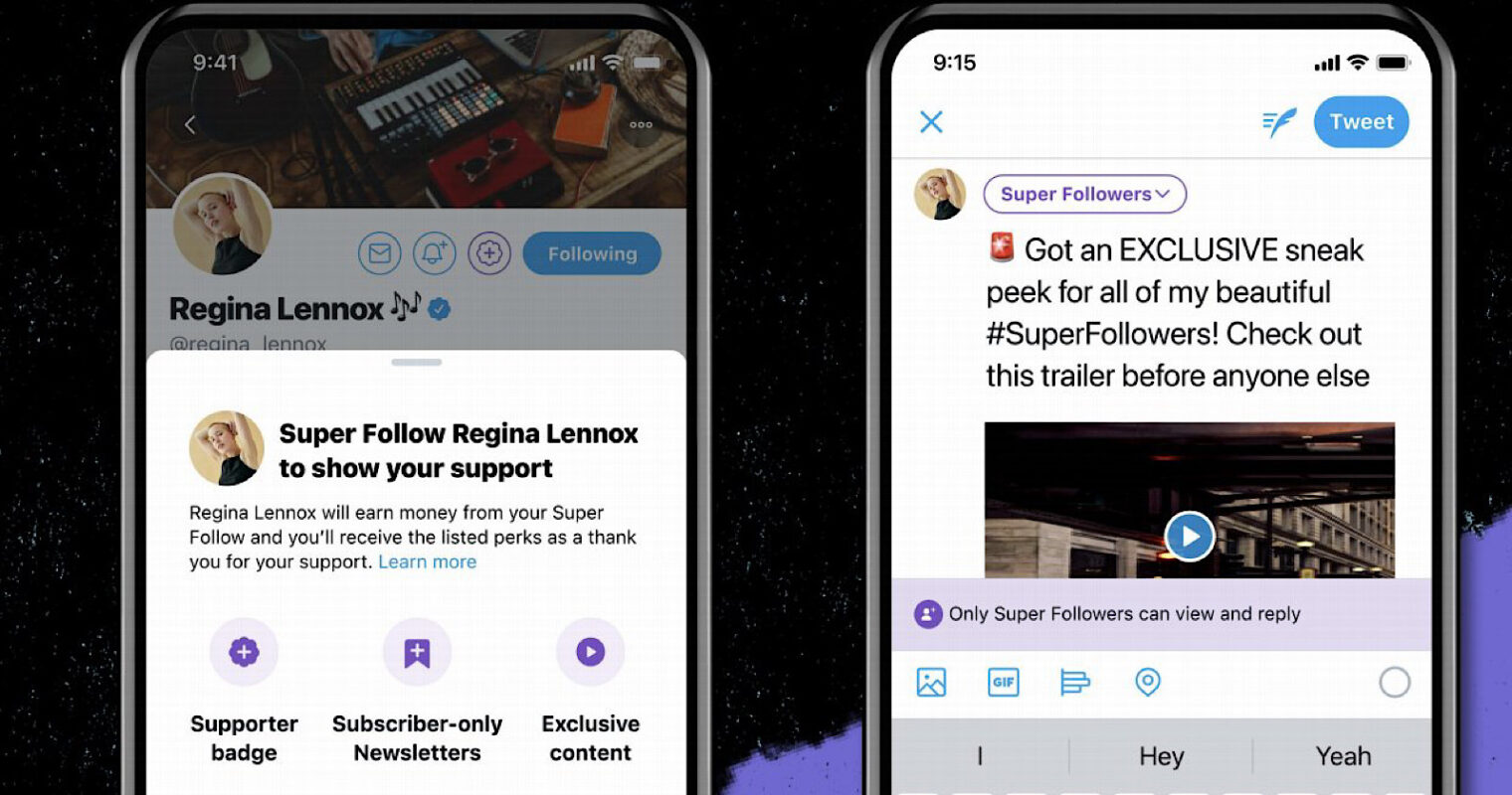 Twitter Lets Users Monetize Tweets With 'Super Follow'