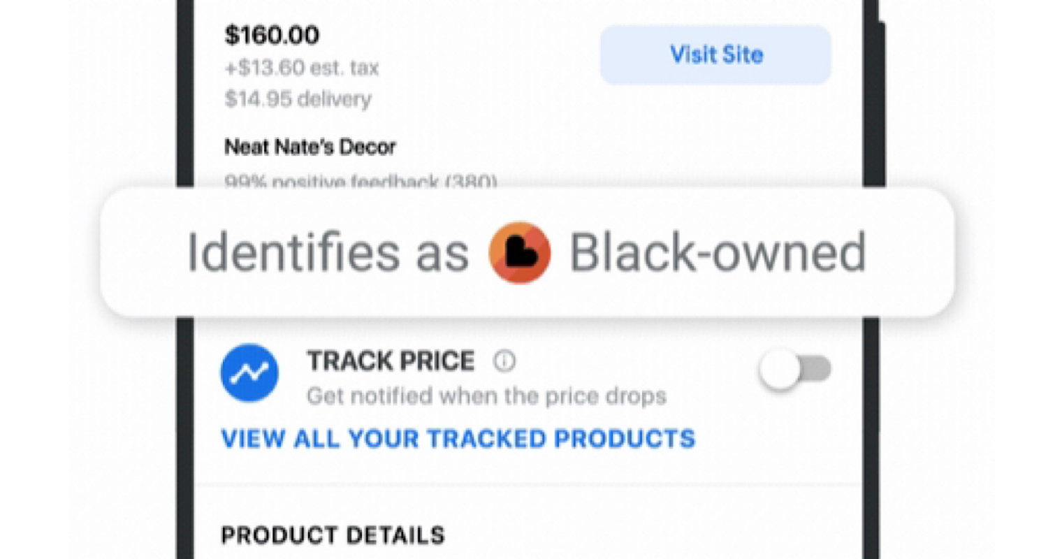 "Google Updates Shopping Search Results With ""Black—owned"" Label"