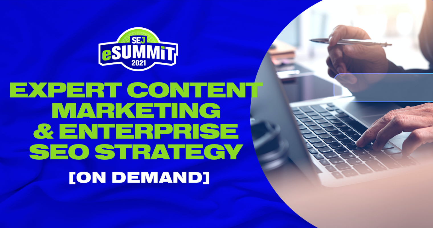 Expert Content Marketing & Enterprise SEO Strategy, On-Demand