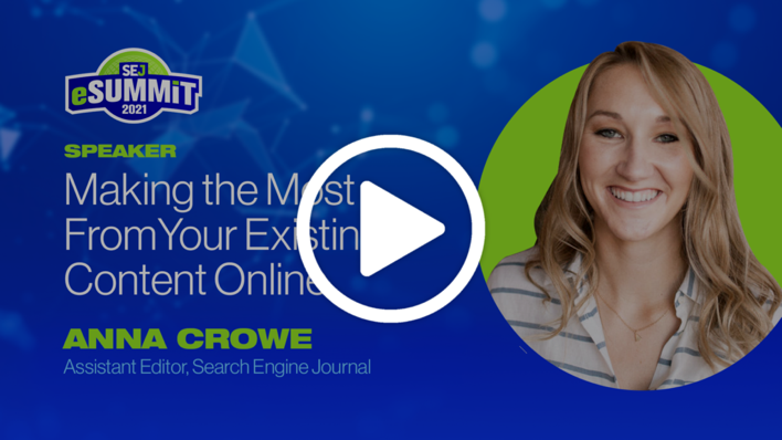 Making the Most of Your Existing Content Online, Anna Crowe