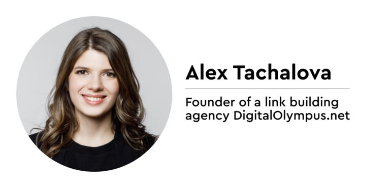 Alex Tachalova on linking building questions - Women in SEO