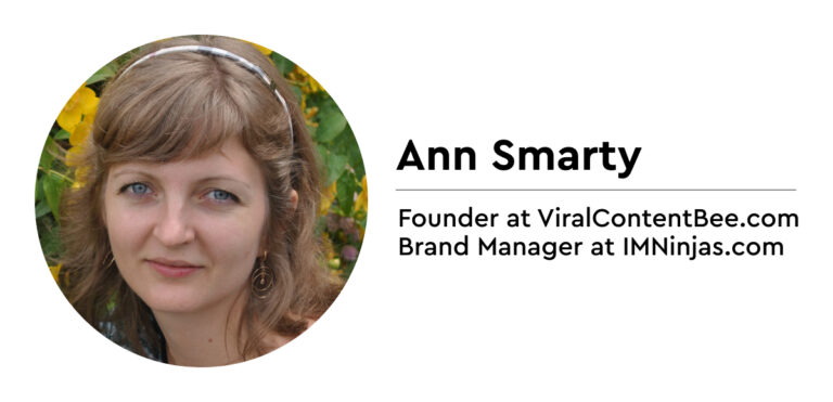 Ann Smarty on link building
