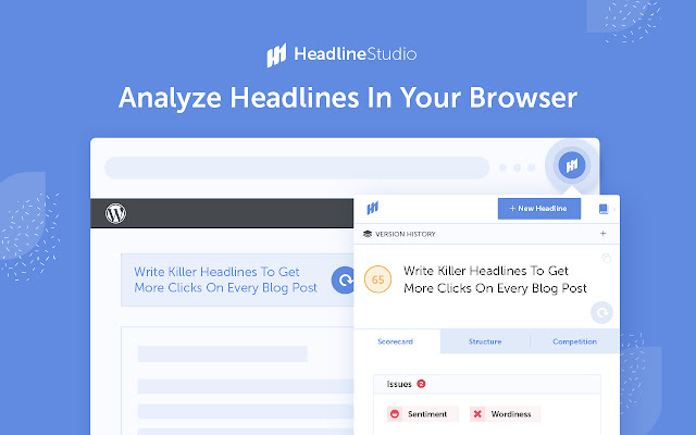 Homepage of Headline Studio by CoSchedule.