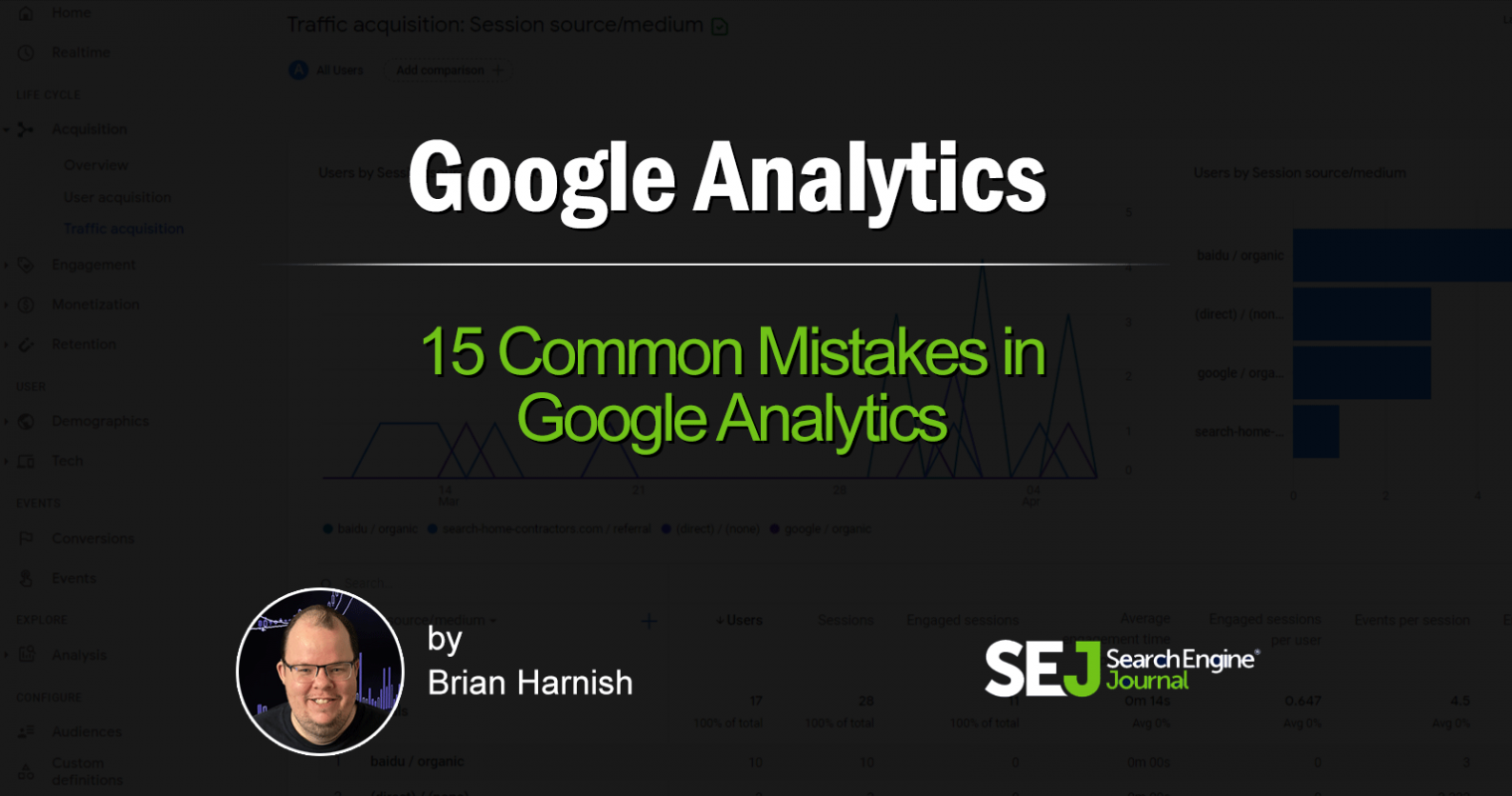 Avoid These 15 Common Google Analytics Mistakes