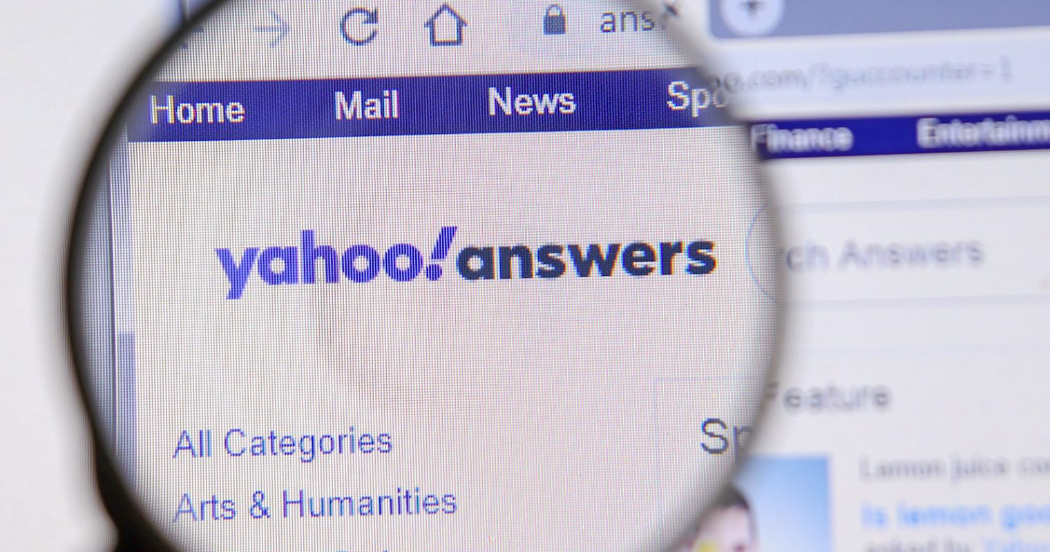 Yahoo Answers Shutting Down May 4, Content Will Not Be Archived