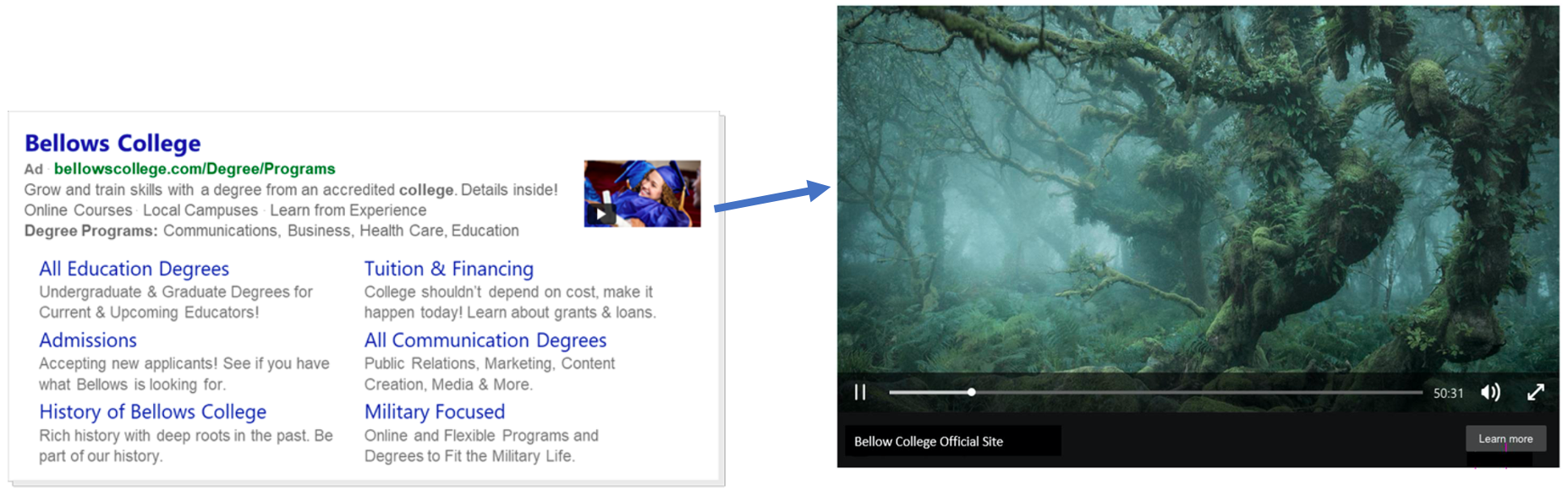 Microsoft Ads Video Extensions