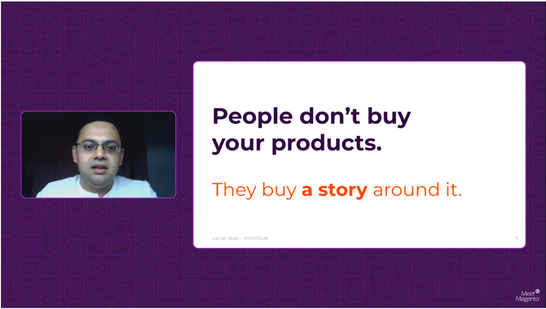 A quote by Vatsal Shah on product stories.