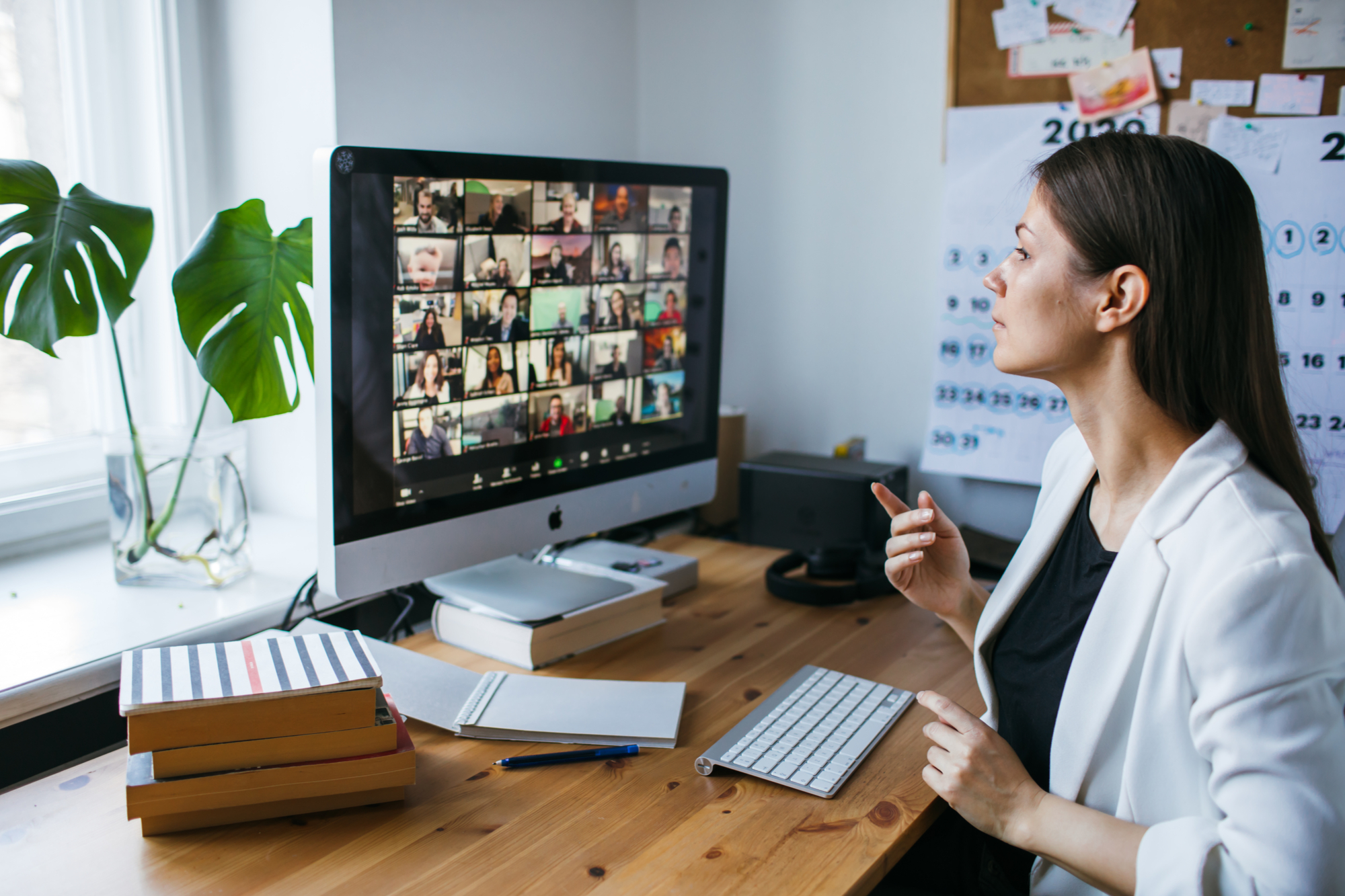 Improve your public speaking skills to be more comfortable on large Zoom calls and other online meetings.