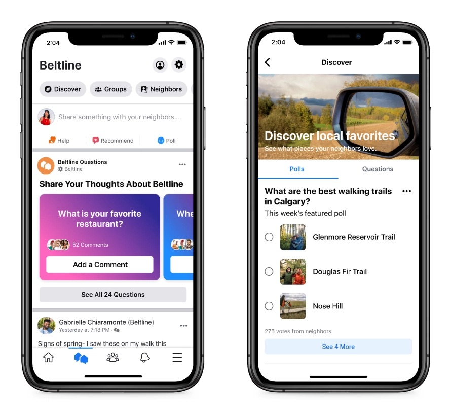 Facebook 'Neighborhoods' Makes it Easy For Locals to Connect