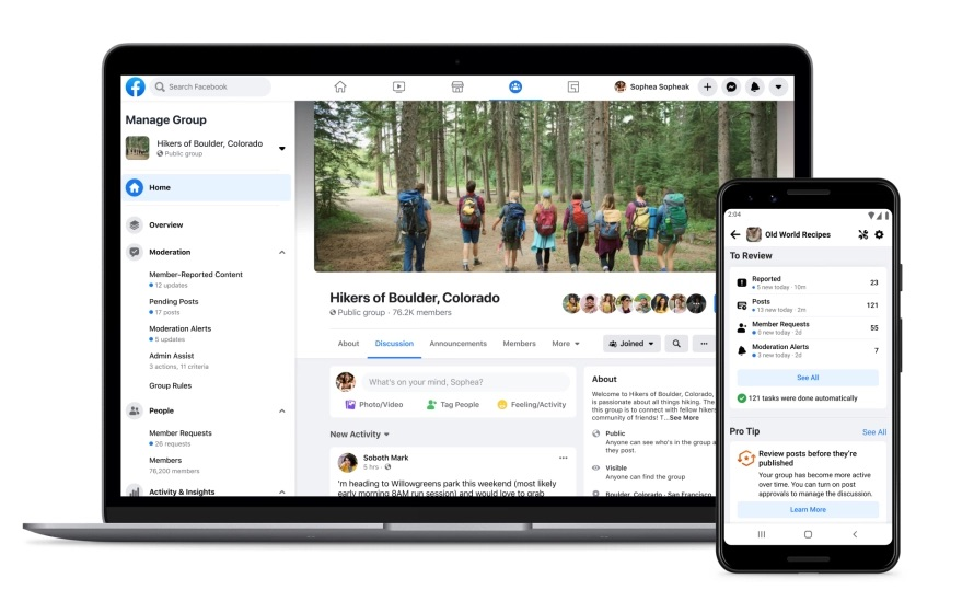 Facebook Has New Tools For Group Admins