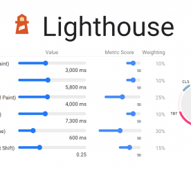 Google PageSpeed Scores Updated with Lighthouse 8.0