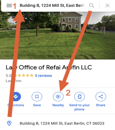 Google Maps - Check for Duplicate Listings