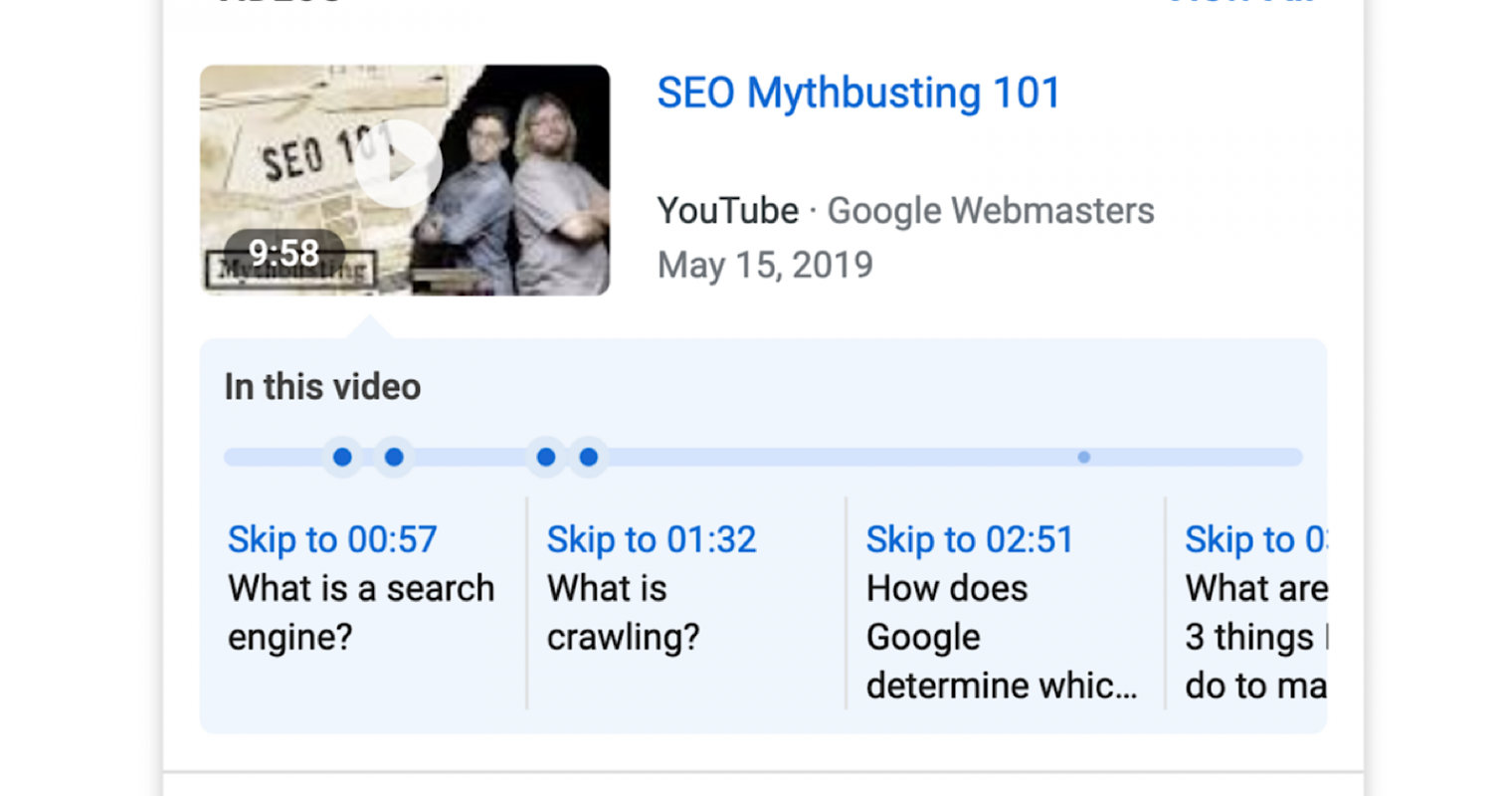 Google Launches New Way to Optimize Videos For Search