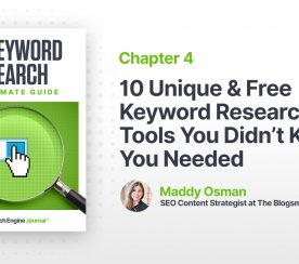 10 Unique & Free Keyword Research Tools You Didn't Know You Needed