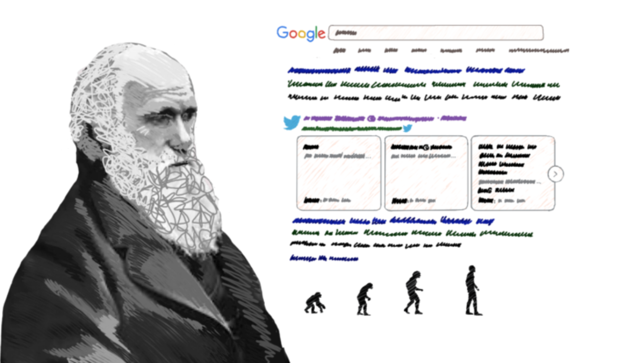 Darwinism in search and how search ranking works.