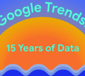 Google Looks Back on 15 Years of Google Trends Data