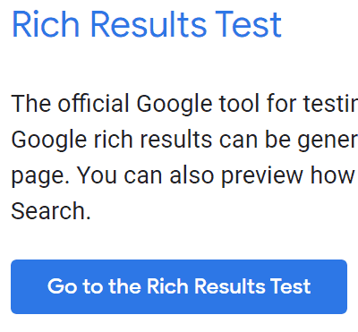 Rich Results Button