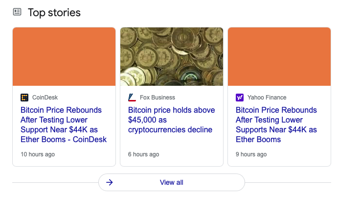 Google Bug Causing Issues With Images in Top Stories