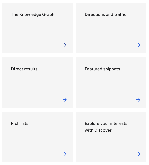 google how search works site