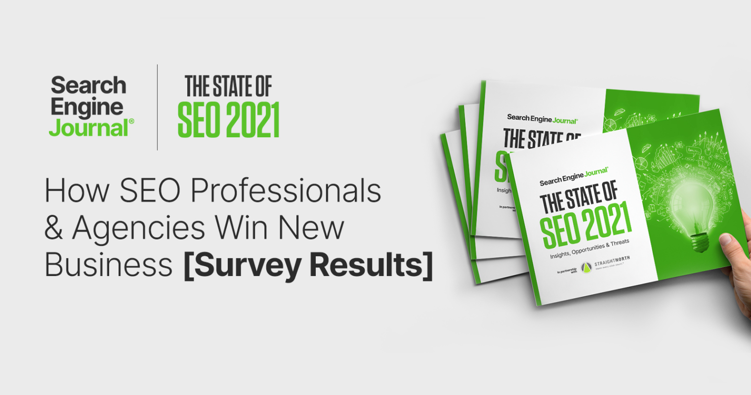How SEO Professionals & Agencies Win New Business [Survey Results]