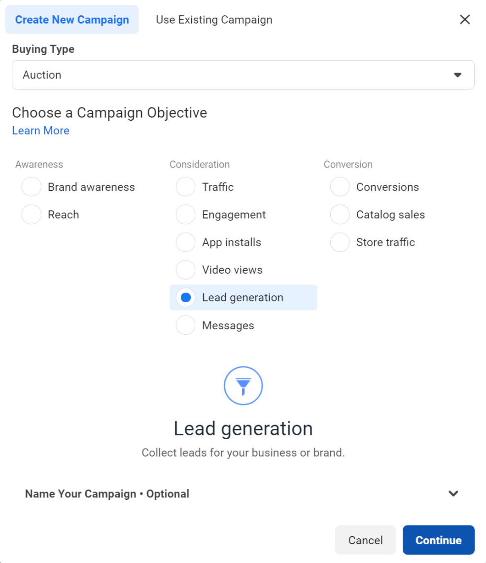 How to Create An Effective Lead Generation Chat Campaign Step 1