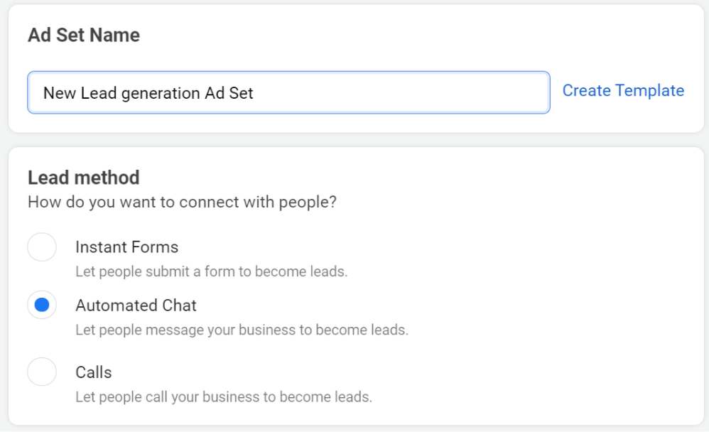 How to Create An Effective Lead Generation Chat Campaign Step 2