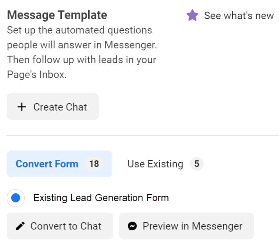 How to Create An Effective Lead Generation Chat Campaign Step 3