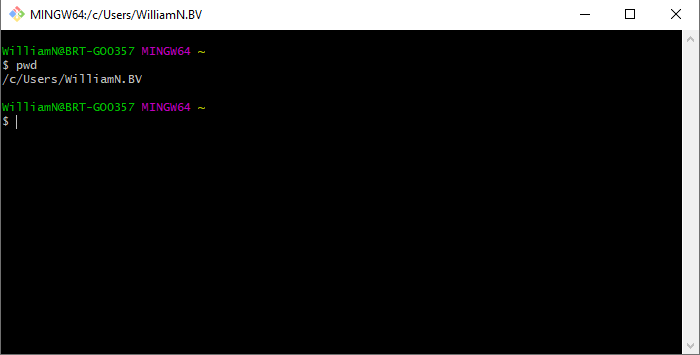 Command line interface.