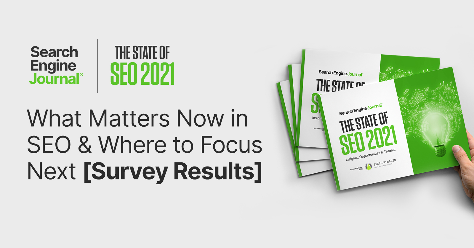What Matters Now in SEO & Where to Focus Next [Survey Results]