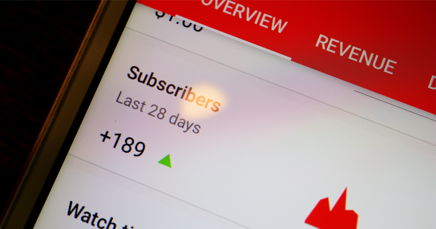 YouTube Adds Traffic & Revenue Data to Mobile Analytics