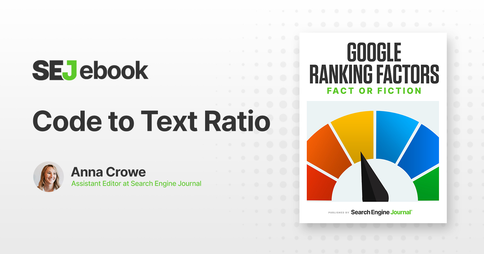 Code to Text Ratio: Is It a Google Ranking Factor? via @sejournal, @annaleacrowe